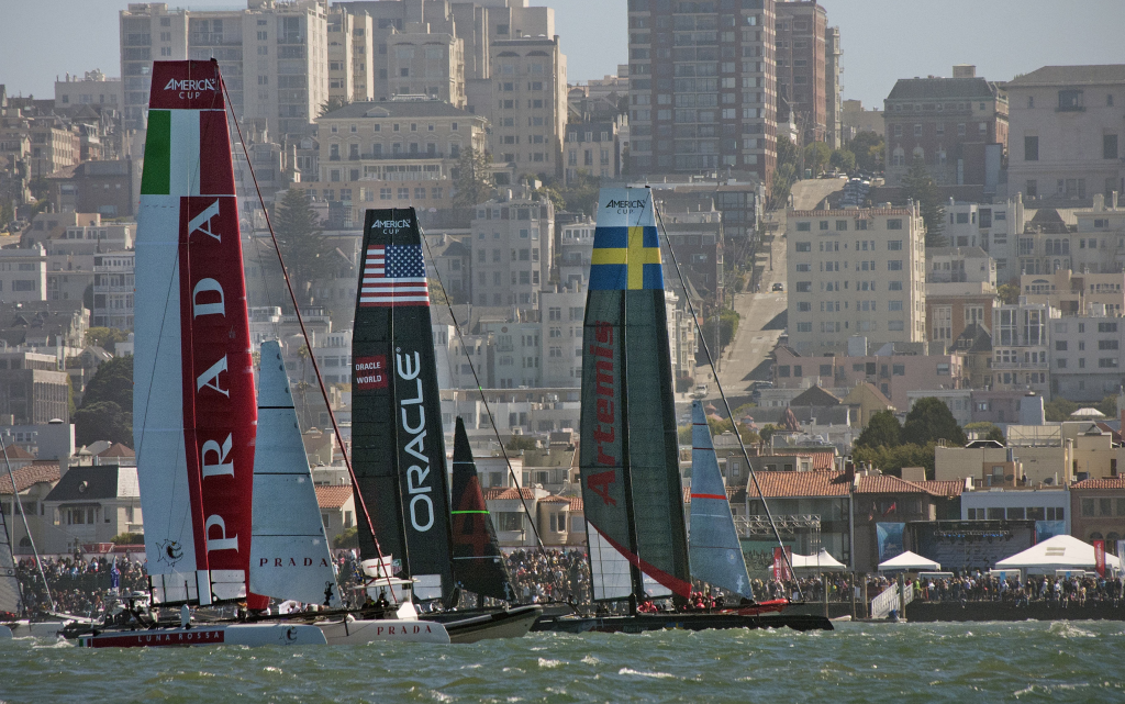 See more America's Cup photos in the Event's section.